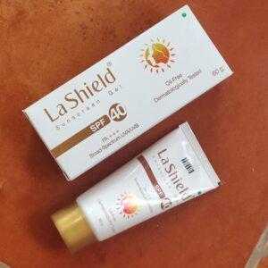 La Shield Sunscreen Gel SPF 40 PA+++ Review