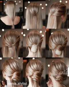 Wedding Hairstyles Updo - Step by Step