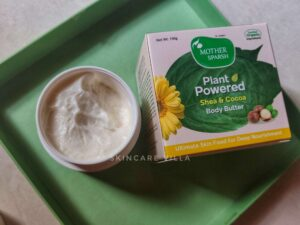 Mother Sparsh Shea and Cocoa Body Butter Review