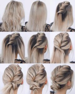 Wedding Hairstyles Updos step by step