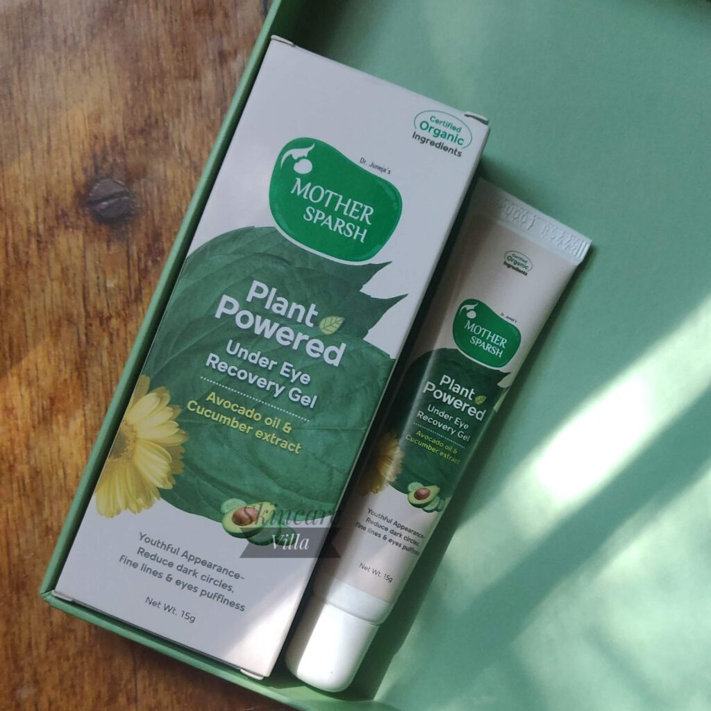 Mother Sparsh Plant Powered Under Eye Recovery Gel Review