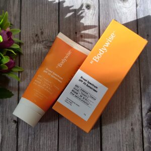 BeBodywise Broad Spectrum SPF 30 Sunscreen Review