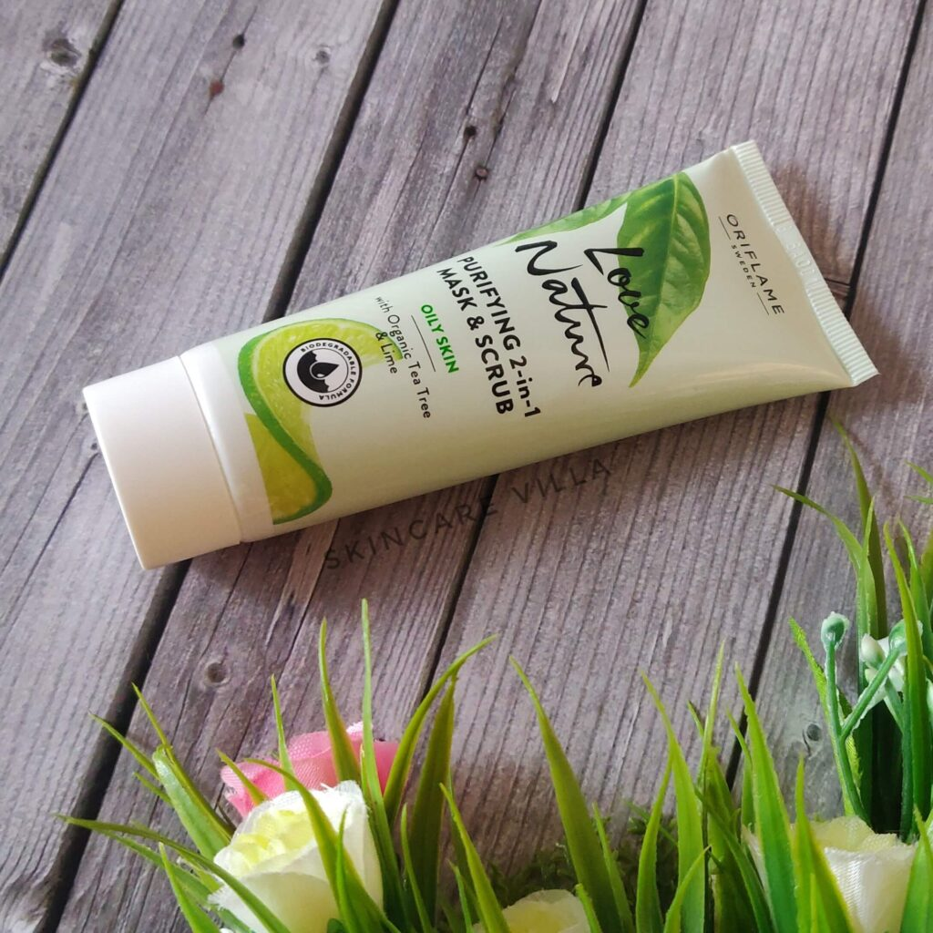 Oriflame Purifying 2 in 1 Mask and Scrub Review